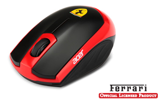 Ferrari Motion Wireless Laser Mouse