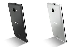 Acer Liquid | S1 Duo Tablet Phone, 2 Back Covers: Black + White