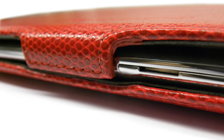 Rood Executive Case Voor de PB Liberty Tab (LC.BAG0P.011)