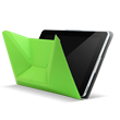 Acer Iconia A3-A10 Crunch Cover - Green