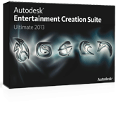 Autodesk Entertainment Creation Suite Ultimate 2013  - Student and Faculty Pricing