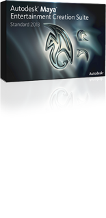 Autodesk Maya Entertainment Creation Suite Standard 2013