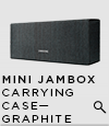 MINI JAMBOX Carrying Case - Graphite