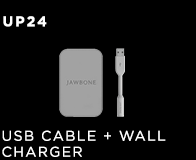 UP24 USB Cable & Wall Charger