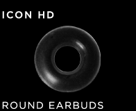 Jawbone ICON HD Round Earbuds 4-Pack