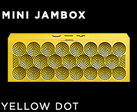 MINI JAMBOX Yellow Dot