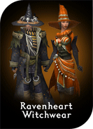 Ravenheart Witchwear Costume
