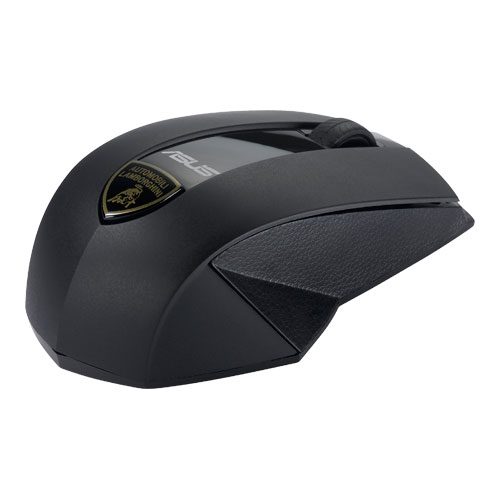ASUS AUTOMOBILI LAMBORGHINI Wireless Laser Mouse, Black