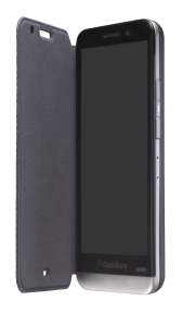 Z30 Leather Flip Case - Black