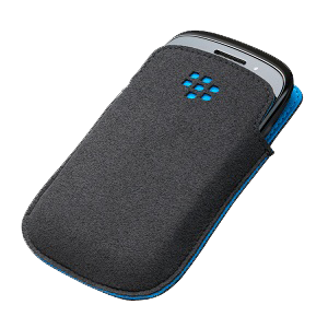 Curve 9220/9310/20 Pocket - Microfiber - Black w/Sky Blue