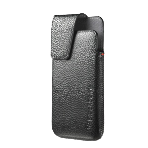 Z10 Leather Swivel Holster - Black