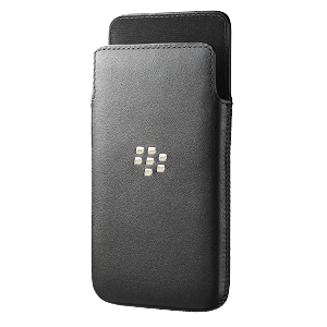 Z10 Leather Pocket - Black