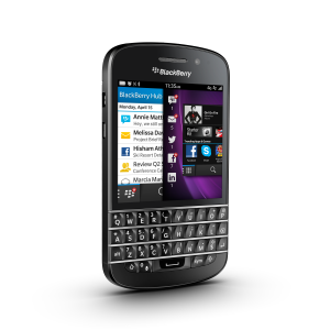 BlackBerry Q10 (Unlocked) - Black