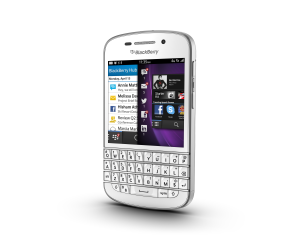 BlackBerry Q10 (Unlocked) - White