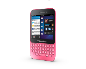 BlackBerry Q5 (Sim Free)(United Kingdom) - Pink