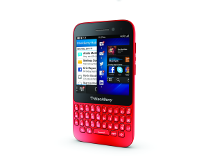 BlackBerry Q5 (Unlocked) - Red