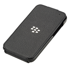 Q5 Leather Flip Shell - Black