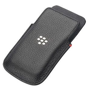 Q5 Leather Pocket - Black