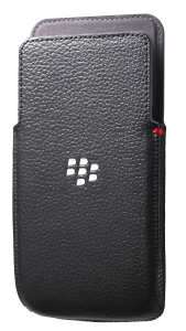 Z30 Leather Pocket - Black