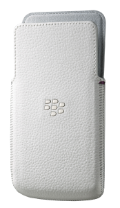 Z30 Leather Pocket - White