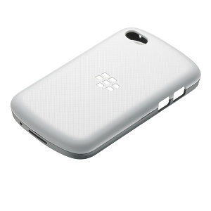 Q10 Hard Shell – White w/Granite Grey (Canada)
