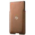 *PRIV Leather Pocket, Tan