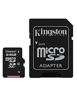 Kingston 64GB SD Card & Adapter