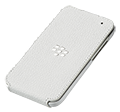 Q5 Leather Flip Shell - White