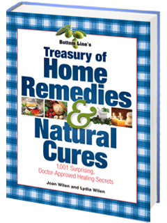 Bottom Line's Treasury of Home Remedies & Natural Cures