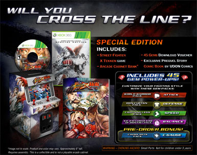 Street Fighter® X Tekken® Special Edition (Xbox 360)