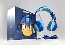 Mega Man Headphones - Blue