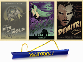 Darkstalkers® Movie Poster Set