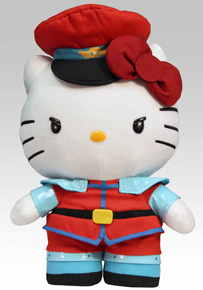Sanrio x Street Fighter Plush - M. Bison