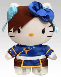 Sanrio x Street Fighter Plush - Chun-Li