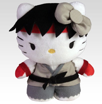 Sanrio x Street Fighter Mini Plush - Ryu