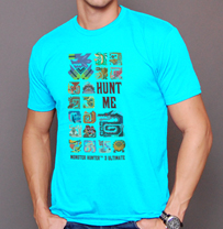 Monster Hunter™ 3 Ultimate T-Shirt - Tahiti Blue