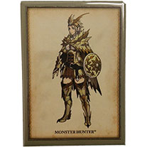 Monster Hunter Seregios Armor Magnet