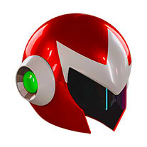 Wearable Proto Man Helmet Replica