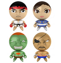 Super Street Fighter® IV Round 1 Bobble Budds® Set