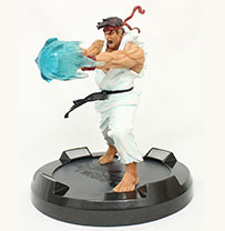 Street Fighter Ryu Hadoken Statue