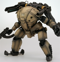 Lost Planet® 2 PTX-140 Hardballer (Early Model) Action Figure