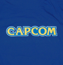 Capcom Logo Royal Blue Tee