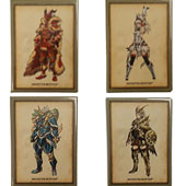 Monster Hunter Magnets