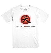 Street Fighter V™ Assassins Fist T-Shirt – White