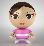 Bobble Budds®: Street Fighter® Chun-Li - Pink SDCC Exclusive