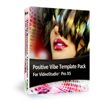 Positive Vibe Template Pack For VideoStudio Pro X5