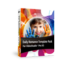 Daily Romance Template Pack  For VideoStudio Pro X5
