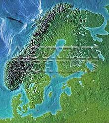 Scandinavia Map Package #510