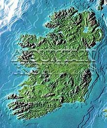 Ireland Map Package #514