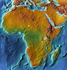 MHMaps - Continental Editions - Africa